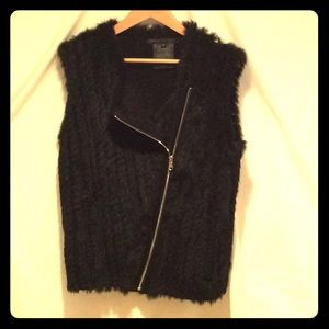 Marc by Marc Jacobs Rabbit Fur Sweater Vest